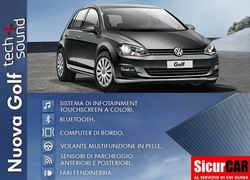 VW GOLF 1.6 TDI TECH&SOUND BMT 5p